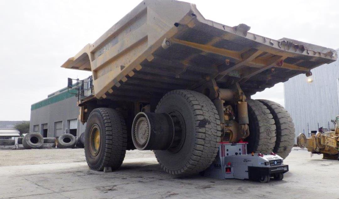 B & D Manufacturing Evolution Jack EJ200, Mining Haul Truck lifting system